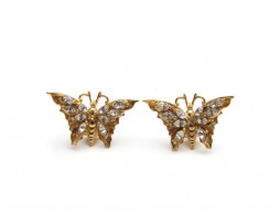 buterfly earrings