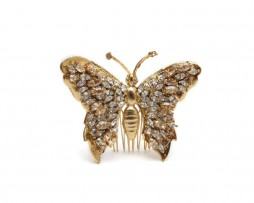 buterfly golden crystal