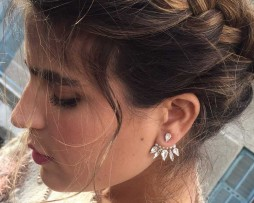 Sparkle Jacket Earring