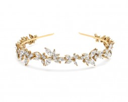 crystal shape headband